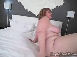 Plumper takes Big black cock prevalent this Second-rate Old woman Video
