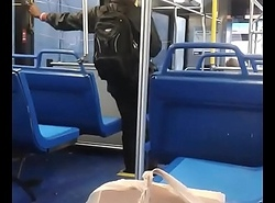 Big black cock jacking superior to before bus