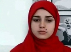 Arab legal age teenager heads leafless