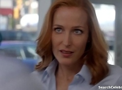 Gillian Anderson - Someone's skin X-Files S10E03